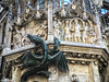 Dragon on Neues Rathaus (kjankov) Tags: munich germany dragon medieval rathaus art europe sculpture cathedral myth mythology dragons german münchen bayern de