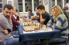 Igor Kovalenko v Natalia Zhukova (Johnchess) Tags: 29january2017 round6 tradewisegibraltarmasters