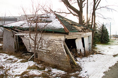 Fixer-Upper (michaeltwo2) Tags: brokendown shambles wreck demolish outhouse barn delapidated destroy hut eyesore ugly disgrace