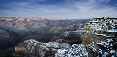 Grand Canyon (OranK7) Tags: grandcanyon landscape arizona california us landmark view horizon spectacular scene snow
