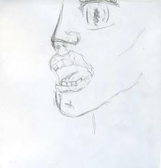 Adolescent insanity (schmurz_flint) Tags: emotion fright испуг эмоция pencil карандаш