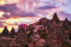 Turki (sandilesmana28) Tags: turki sunrise sand tree balloon air nature landscape