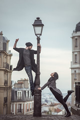 (dimitryroulland) Tags: nikon d600 85mm 18 dimitry roulland dance dancer performer art montmatre paris france urban street city love duo couple