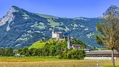 Gutenberg Castle, Liechtenstein (frodeturer (check albums for themes / places)) Tags: liechtenstein alps alpine alpen burg castle borg church mountain frodeturer