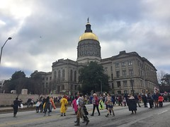 ATL Womens March (moke076) Tags: womens march atlanta georgia ga south southern city political politics democracy civil protest public posters street demonstration iphone cell cellphone mobile 2017 state capital building dome gold