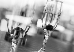 Cheers (Martzimages) Tags: blackandwhite martzimages mono monochrome glasses drink alcohol stilllife