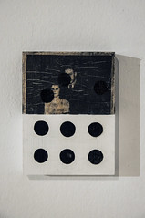 triple mode (Kaja Utkowska) Tags: lithography art object mixedmedia collage bricollage triple mode couple raster oldphoto
