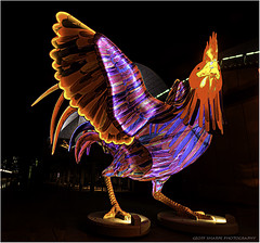 Big Rooster (geoff_sharpe) Tags: nightscapes chinese new year rooster opera house sydney