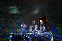 Bedtime Story (jannepaint) Tags: lightpainting lightdrawing longexposure lightart space