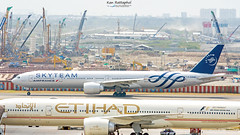 Air France : F-GZNN Boeing 777-300(ER) (Kan_Rattaphol) Tags: airplane aircraft airliner airfrance af af165 bkk vtbs boeing b777 b777300er fgznn suvarnabhumiinternationalairport suvarnabhumiairport skyteam