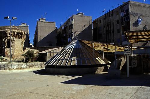 "Ägypten 1999 (715) Alexandria: Katakomben von Kom el-Shoqafa • <a style=""font-size:0.8em;"" href=""http://www.flickr.com/photos/69570948@N04/32954749056/"" target=""_blank"">View on Flickr</a>"