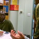 Vukoni's Lupa-Lasaga's pre-dissertation field work luncheon, 2014