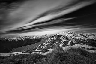 View from the top of Monte Cerano, lunga esposizione