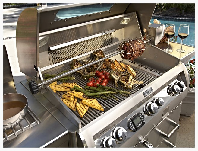 "Fire Magic 30"" E660 cart grill"
