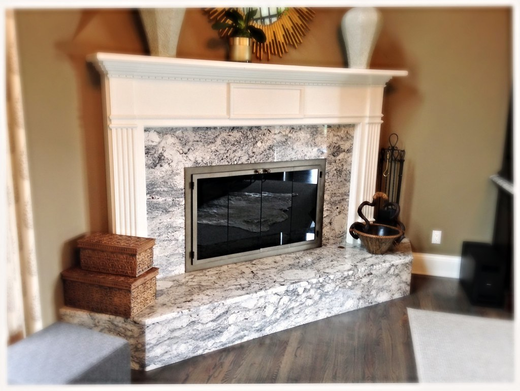 Custom Fireplace Glass Doors, Signal Mtn. Tn.