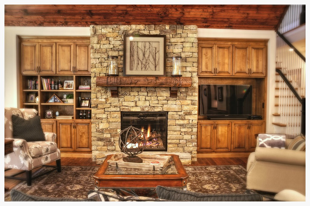 Mendota FV-46 Direct Vent Fireplace, Ooltewah, Tn.