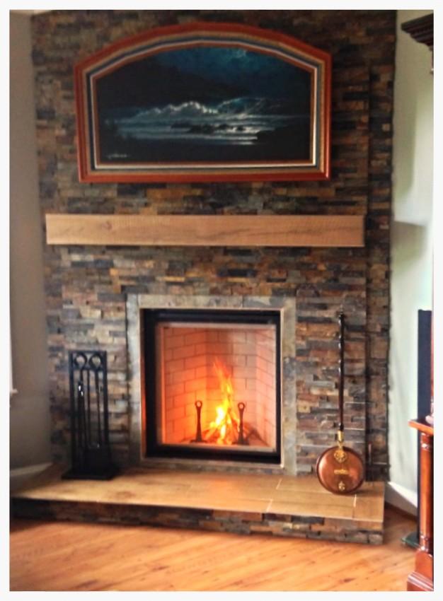 Rennaisance Rumford Fireplace. Signal Mtn. Chattanooga, Tn.