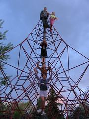 Climbing frame (florabritannica) Tags: spain cqw