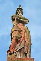 Armed Science (Leo Reynolds) Tags: sky sculpture cemetery canon eos 350d iso100 memorial war publicart 60mm warmemorial objectsky f63 cemeteryearlham 0ev 0008sec hpexif groupobjectsky groupgraves leol30random publicartnorwich groupnorwich xratio23x xskysetx xleol30x