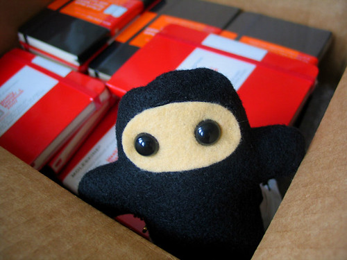 Pocket Ninja Guarding Moleskine Planners