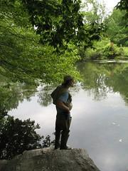 fisherman1 (Joe in MV) Tags: swans twinlakes eastchester westchester