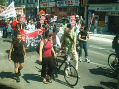 No One Is Illegal  National Day of Action - Toronto March, Saturday May 27, 2006 - 031 (HiMY SYeD / photopia) Tags: people toronto march civilrights socialjustice workersrights nooneisillegal immigrantrights
