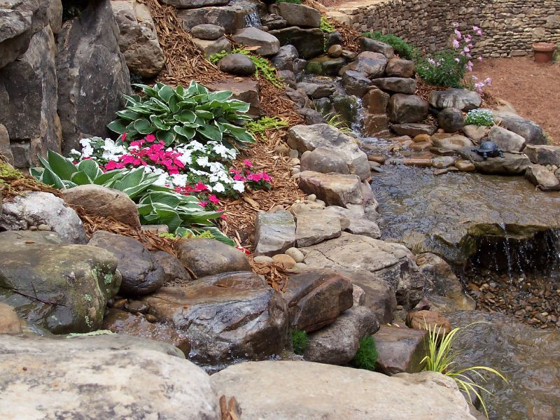 Christman landscaping amp hardscapes pondless water features