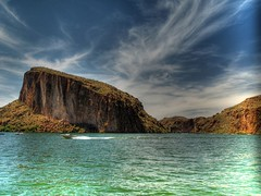 Mormon Flat Dam (Videoal) Tags: arizona explore boating recreation canyonlake tontonationalforest mormanflatdam