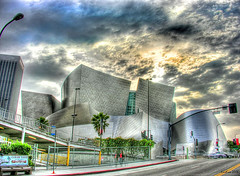 walt disney concert hall in hdr (Kris Kros) Tags: california ca usa building art public cali modern photoshop frank photography la hall us losangeles interestingness high cool interesting concert nikon pix dynamic cs2 hill dream gehry ps disney explore bunker socal kris walt range frankgehry hdr futuristic jjj kkg waltdisneyconcerthall waltdisney concerthall interestingness3 photomatix pscs2 kros kriskros explorefrontpage 5xp tophdr kk2k kkefp kkgallery