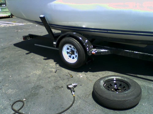New Trailer Wheels and Tires