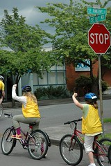 Buckman Elem. bike safety class