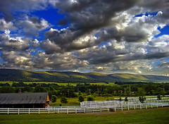 Hill 'n' Dale (Nicholas_T) Tags: sky weather clouds rural landscape spring pennsylvania hills valley creativecommons poconos bluemountain appalachianmountains stratocumulus monroecounty kittatinnymountain cherryvalley