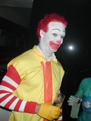 Big Mac anyone... (Pat Rioux) Tags: madrid people halloween circus staff artists acrobats ronaldmcdonald cirque cirquedusoleil dralion aroundtheworld europeantour