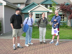 Allan, Sid, Julia, and Stan (monkeys with tails) Tags: 2006 stan victoriabc dhsi