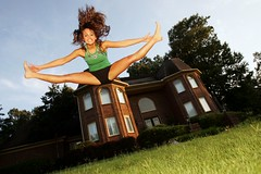 Caroline Howell (Kellen!) Tags: germantown jump jumping toe touch caroline gymnastics cheerleader cheerleading leap duh kellen howell toetouch kjera