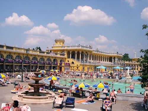 Baños termales Budapest