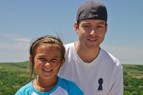 Josh & Cody at Konza