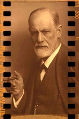 Papa Freud, conflicted, with cigar