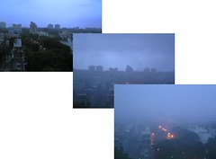 The monsoon finally comes to Mumbai