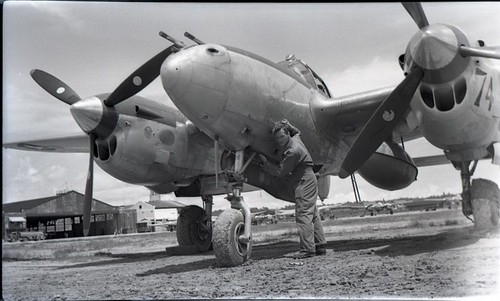 Warbird picture - P-38, France Field, Panama 1945