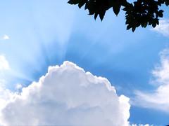 Wolken Himmel Sonne Sommer ... St Johann (MoniChan :)) Tags: blue sky cloud sommer himmel wolke wolken blau baum