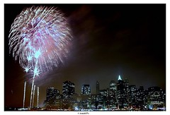 . (Arnold Pouteau's) Tags: nyc newyorkcity newyork night fireworks manhattan july4th independanceday