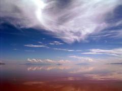 Island peaks (Great Salt Lake Images) Tags: utah greatsaltlake oldjetty rozelpoint oilexploration