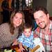 Liz, Cameron and Brett at Gordon Biersch in Honolulu