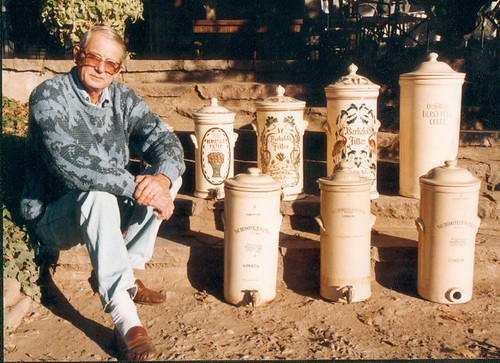 Antique ceramic water filters