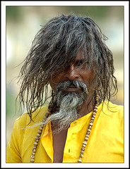 Sadhu at Sangam 03 (Arif Siddiqui) Tags: portrait people india portraits faces photojournalism photojournalist theface arunachalpradesh