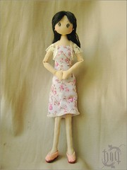 jenny doll (ccyytt) Tags: pink stuffed doll handmade sewing crafts jenny