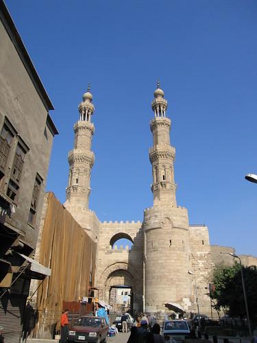 Puerta de Bab Zuwayla (El Cairo) por GrumpyWolf.