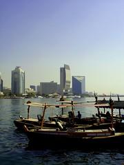 Dubai Creek (A Sutanto) Tags: travel architecture buildings boats dubai uae dubaicreek dhows unitedarabemirates