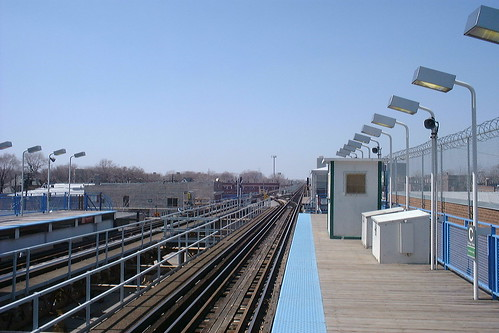 railroad usa chicago station electric america illinois cta railway el il electricity l elevated 電 电